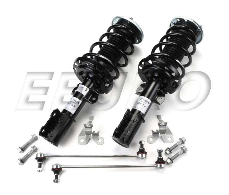 SAAB Coil Spring Strut Assembly Kit - Front (Sport) - eEuroparts.com Assemblies