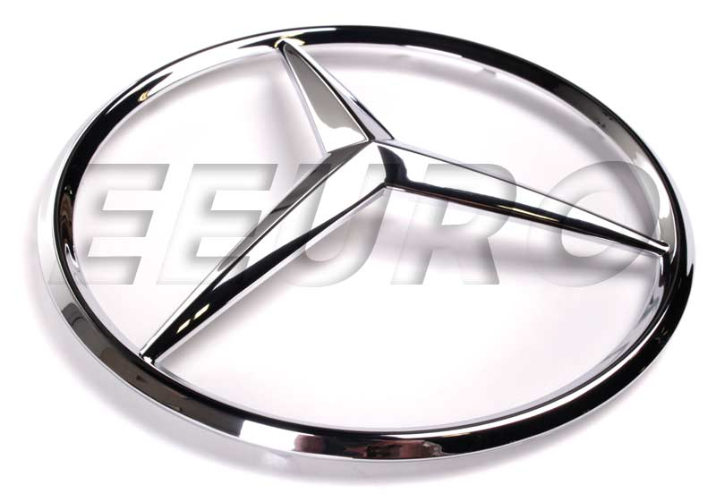 Genuine mercedes emblem front grille star 1638880086 for Mercedes benz insignia