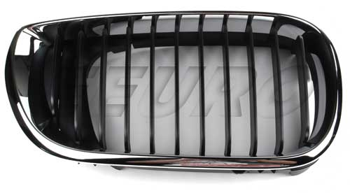 Kidney Grille - Front Passenger Side (Black) 51137030546 Main Image