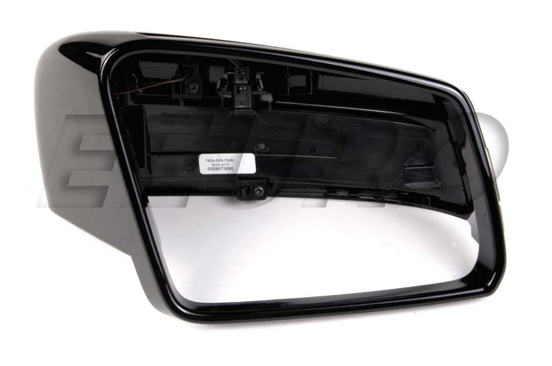 Genuine mercedes side mirror cover passenger side black for Mercedes benz side mirror price