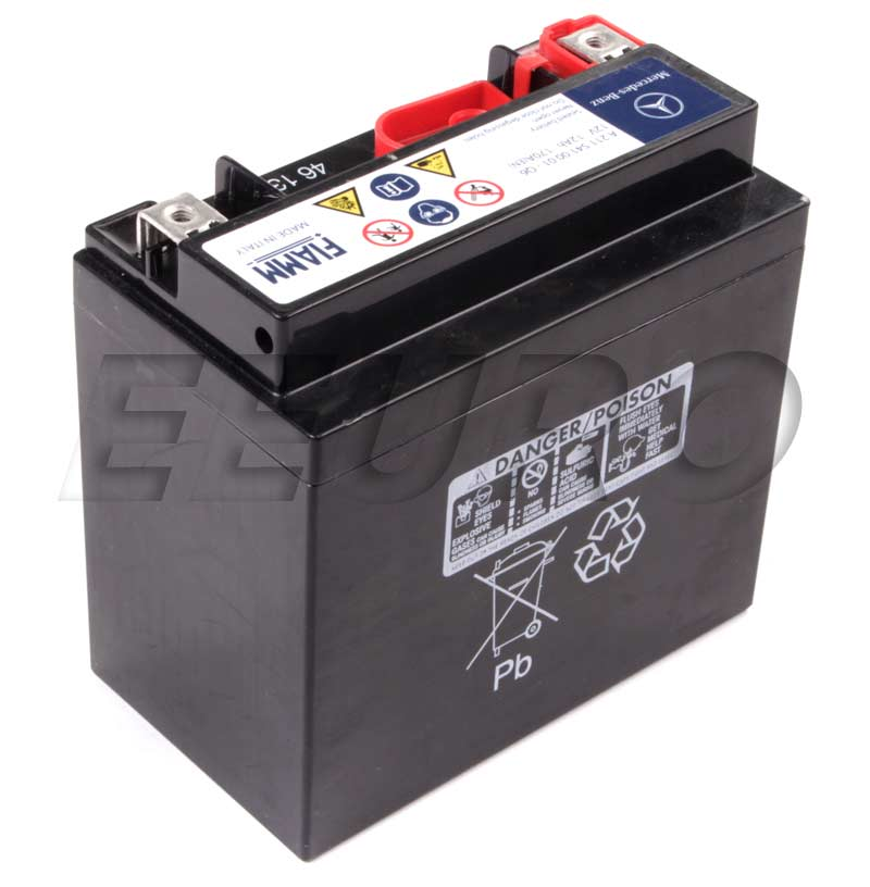 Genuine mercedes auxiliary battery sbc 2115410001 free for Mercedes benz batteries