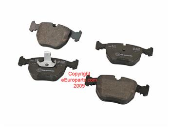 Image of Disc Brake Pad Set - Front part number 34116761252G