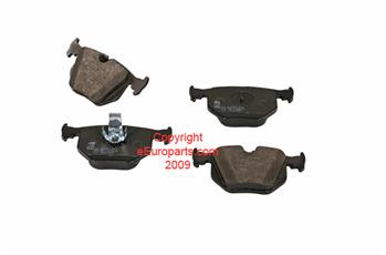 Image of Disc Brake Pad Set - Rear part number 34216750160F