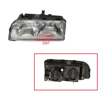 Headlight Assembly - Driver Side 9159412