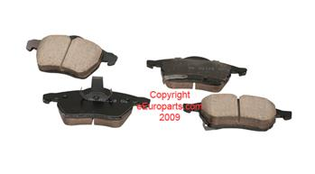 Image of Disc Brake Pad Set - Front part number 4509360U