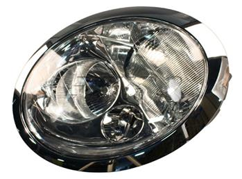Image of Headlight Assembly - Driver Side (Halogen) part number 63126911705