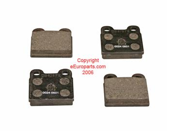 Image of Brake Pad Set (Rear) part number 8993230G