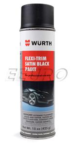 Satin Black Plastic Trim Paint (15oz.) SBP