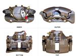 Image of Disc Brake Caliper - Passenger Side Front part number 2203318R