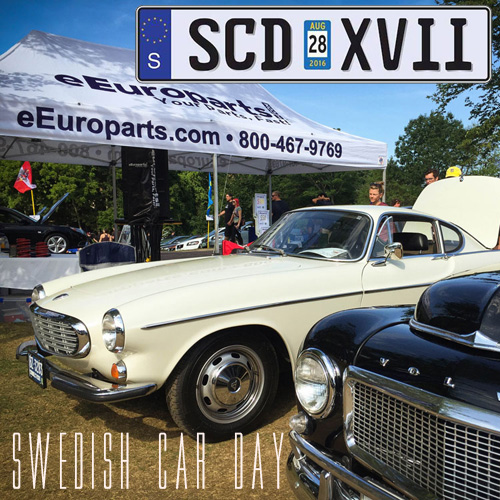 Larz Anderson Gets A Bad Case Of The SWEDE – Swedish Car Day 2016