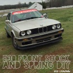E30 Front Springs and Shocks