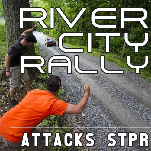 River City Rally Attacks STPR 2016 For Sideways Gravel Action