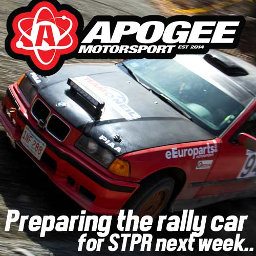 Dialing In The BMW For Susquehannock Trails Performance Rally (STPR)