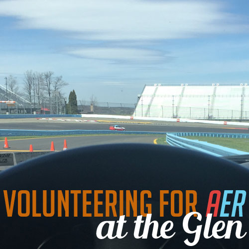 Volunteering for AER at the Glen