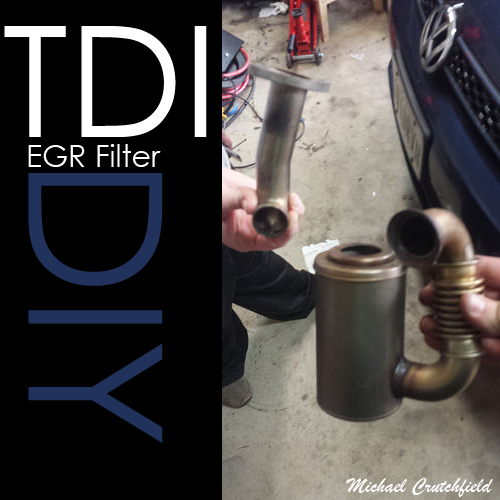 VW 2.0 CR TDI EGR Filter Replacement