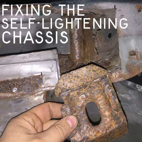Solving The Problems Of A Self Lightening E36 Chassis