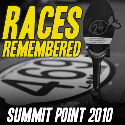 Races Remembered: Duct Tape Motorsports gets 1st Place at Summit Point 2010