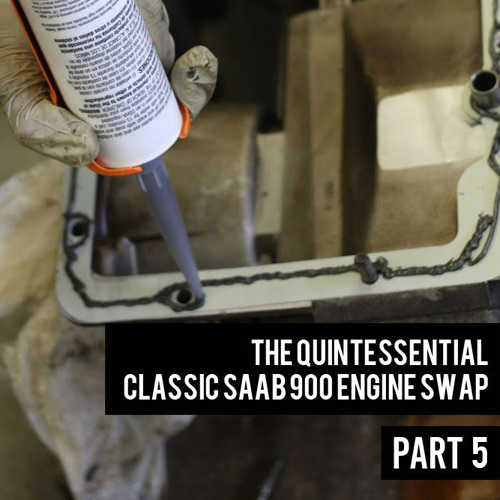 The Quintessential Classic Saab 900 Engine Swap Part 5: Mating the Transmission to the Engine