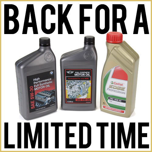 Castrol 5W30 Oil – The Motor Oil Of Choice For Some of The Best BMW Engines
