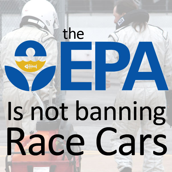 Everyone Settle Down, The EPA Is Not Going To Ban Your Race Car [UPDATE]