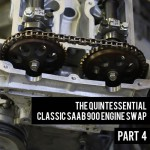 Attaching the Cylinder Head SAAB