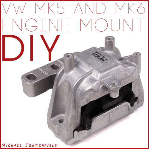 MKV/MKVI Jetta Sportwagen TDI Engine Mount replacement