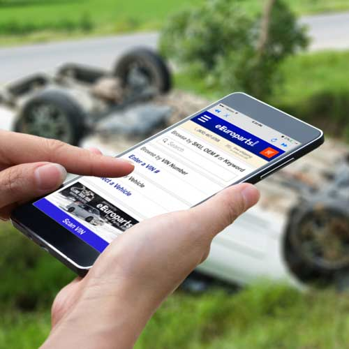 eEuroparts App Now Available for iPhone and Android!