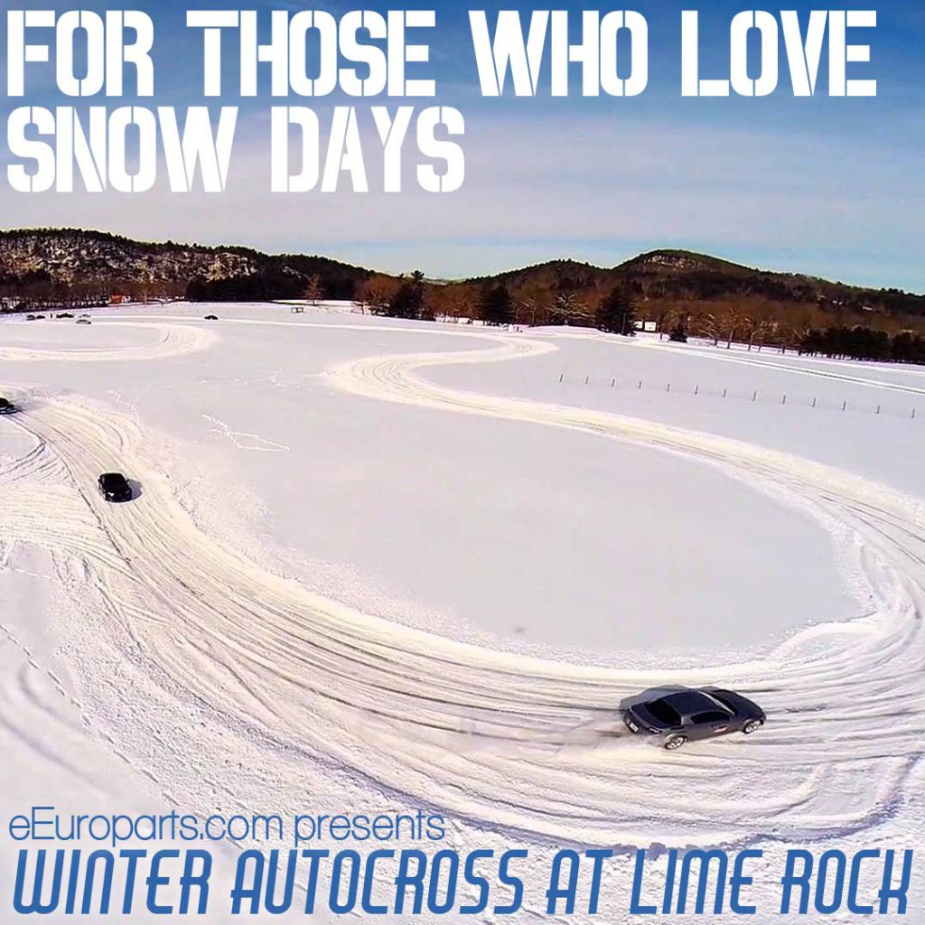 Lime Rock Park's Winter Autocross Presented by eEuroparts.com