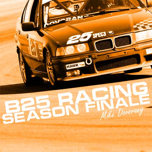 B25 Racing – A Spooky Finish to the 2015 Spec 3 Season