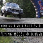 Flying Moose at Ojibwe Forest Rally