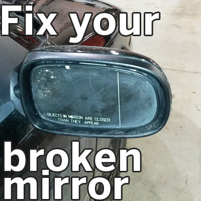 DIY Guide on How to Fix a Broken Side View Mirror