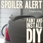 DIY Spoiler Paint and Install