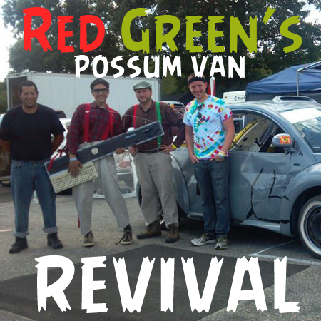 Red Green's Possum Lodge Van REVIVED (As a VW New Beetle?)