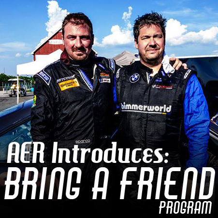 "AER's ""Bring A Friend"" Program Will Get You On Track!"