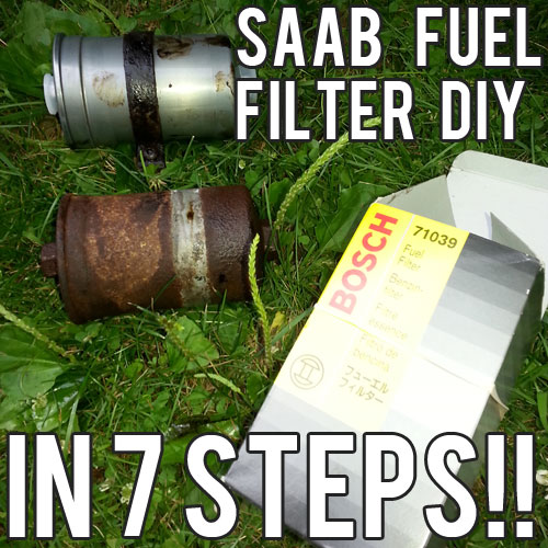 SAAB 9-5 Fuel Filter – Diagnosing Symptoms and a Step-by-Step Replacement Guide
