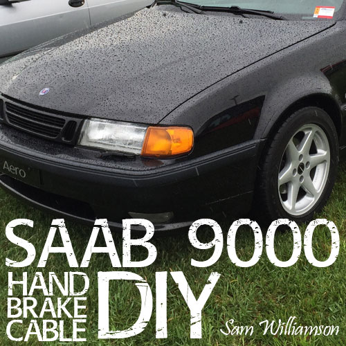 Emergency Brake Cable Issues and Replacement on SAAB 9000