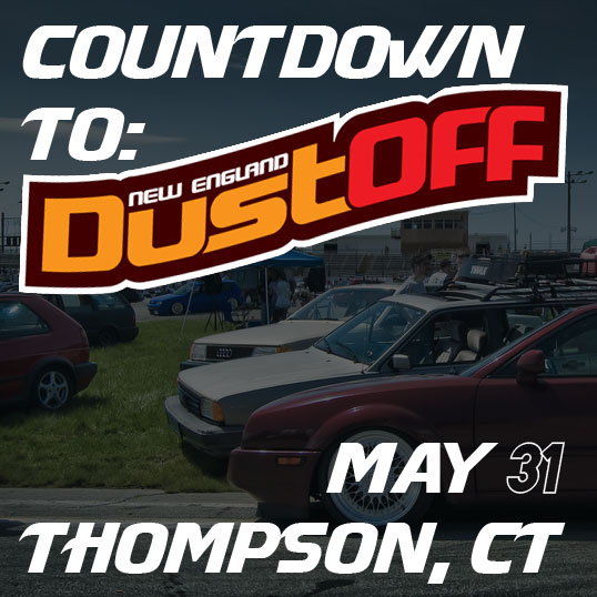 May 31st – New England Dustoff Is Right Around The Corner
