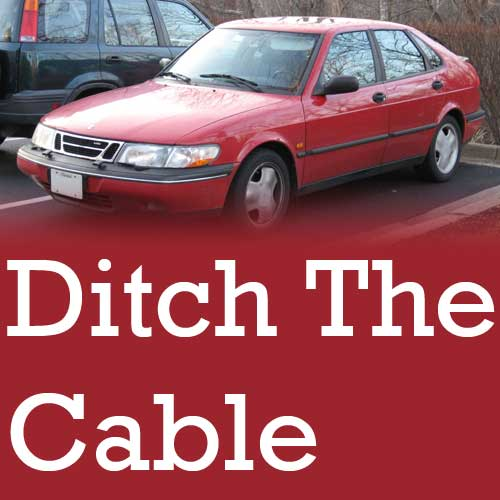 Converting Your SAAB NG900 To A Hydraulic Clutch With Kit 101K10172