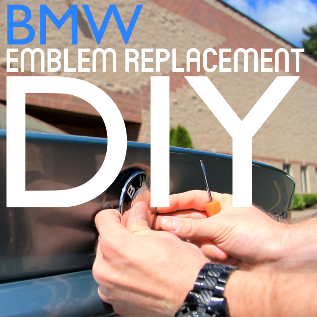 BMW Emblem Replacement Guide Using Genuine Parts