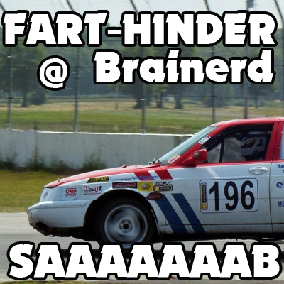 Some Days The Bear Gets You (Fart-Hinder Racing Recap)
