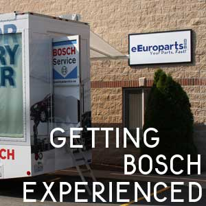 The Bosch Experience Comes To eEuroparts