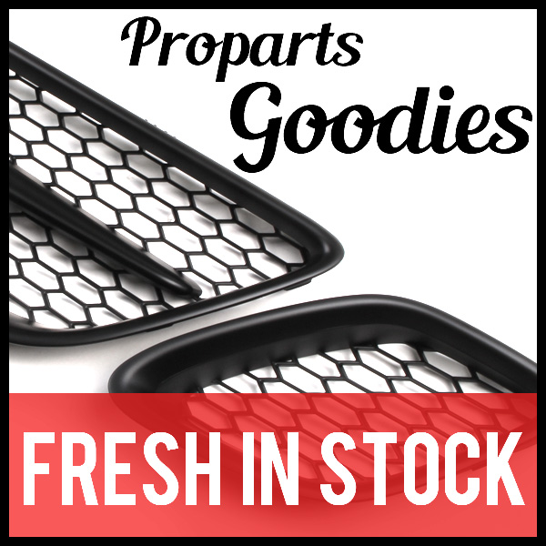 Now In Stock – Proparts Spoilers, Mesh Grills, and Stainless Steel 3″ Downpipes for 9-5