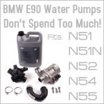 E90 3 Series Water Pump
