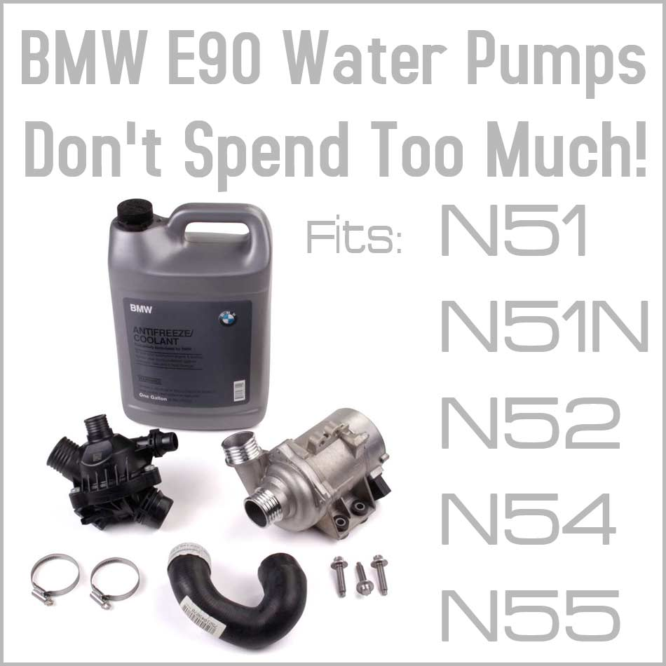 Common Problems to the BMW 3-series E90 Electric Water Pump -  eEuroparts.com Blog