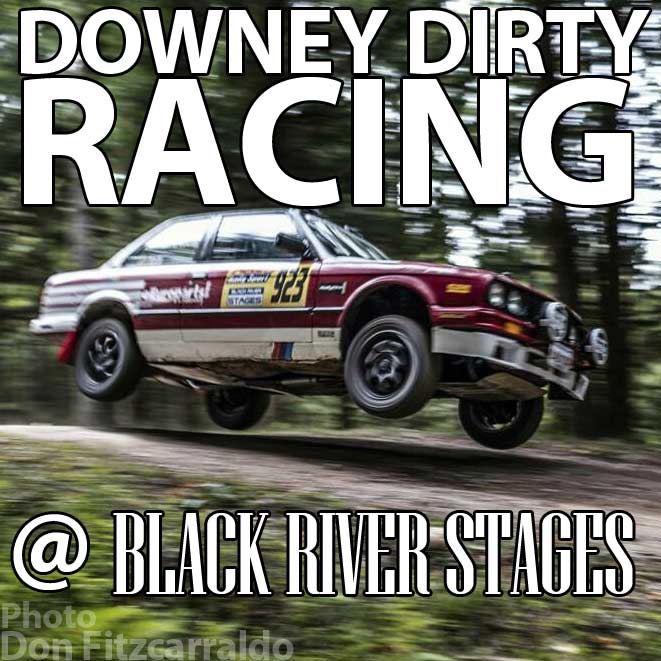 Downey Dirty Racing Catches Air At Black River Stages