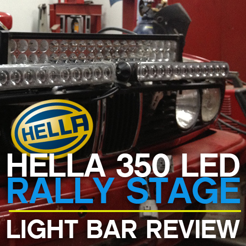 Driving Fast In The Dark – Hella 350 Light Bar Review