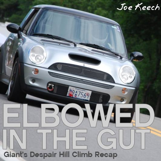 Elbowed In The Gut – Giants Despair Hill Climb