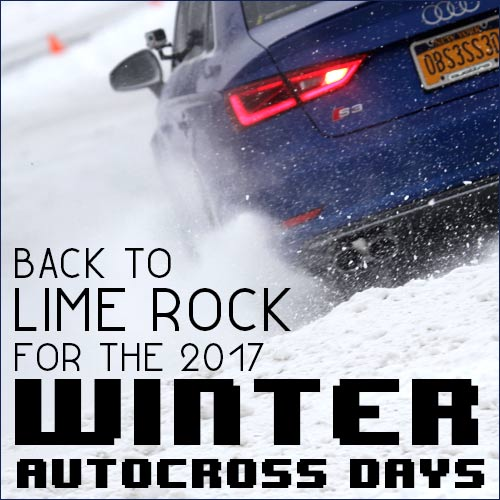 Winter Autocross Days are back at LRP in 2017
