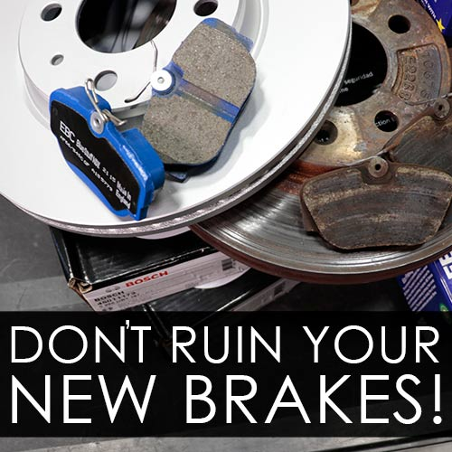 Brake Pad Bed-In: The Crucial Forgotten Step