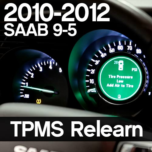 How to program NG9-5 TPMS sensors without a TechII